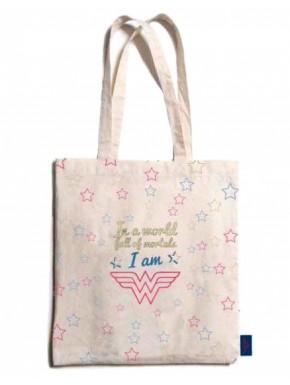 Bolsa de Algodón Wonder Woman Stars