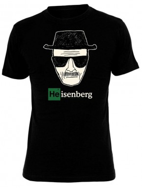 Camiseta Breaking Bad Heisenberg negra