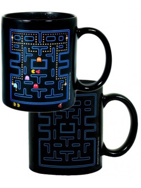 Taza sensitiva calor Pac Man comecocos