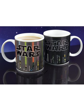 Star Wars Taza sensitiva al calor Lightsaber