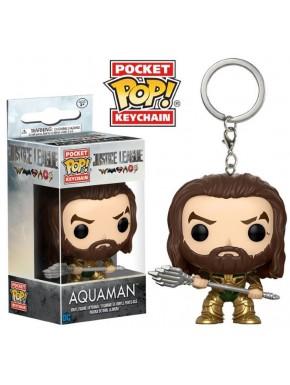 Llavero mini Funko Pop! Aquaman Liga de la Justicia
