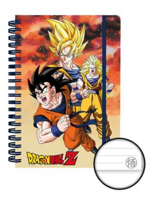 Libreta A5 Dragon Ball Son Goku