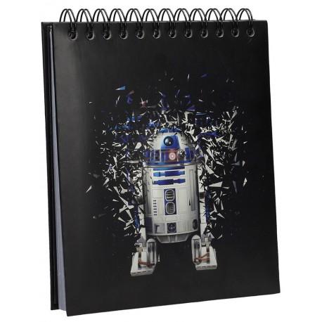 Star Wars Libreta con Luz y Sonido R2-D2