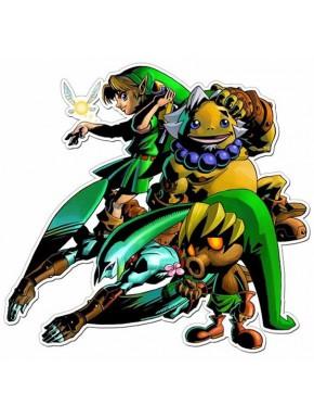 Set de pegatinas Zelda Majora's Mask
