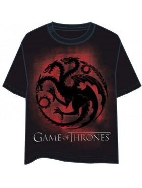 Camiseta Juego de Tronos Targaryen Emblema