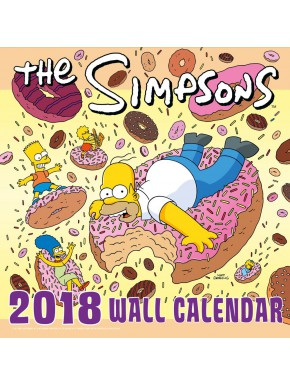 Calendario pared 2018 Los Simpson