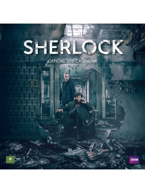 Calendario pared 2018 Sherlock
