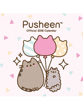 Calendario pared 2018 Pusheen Cat