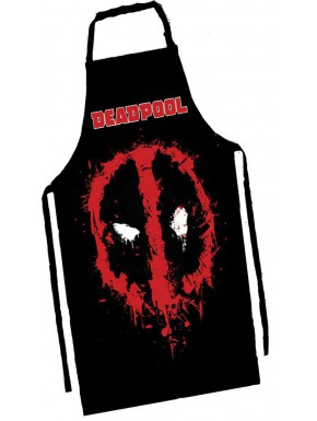 Delantal Marvel Deadpool face