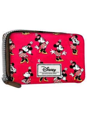 Cartera Billetera Minnie Mouse Rosa Disney