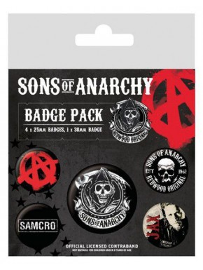 Chapas sons of Anarchy