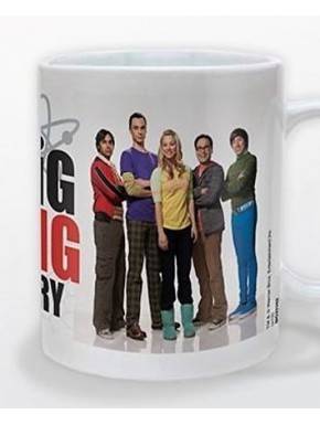 Taza Big Bang Theory Portrait