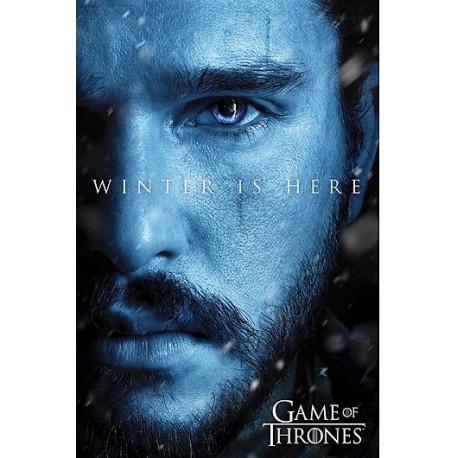 Póster Juego de Tronos Jon Snow