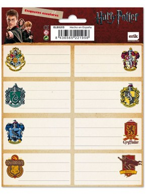 Set etiquetas Harry Potter