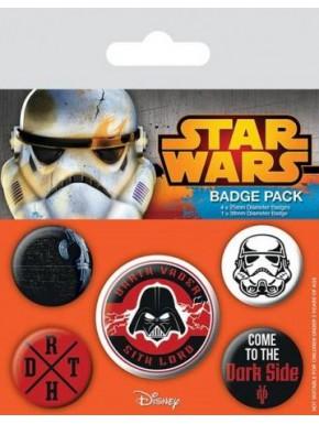 Chapas Star Wars Dark Side