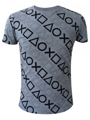 Camiseta Playstation buttons