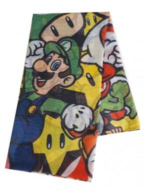 Super Mario Pañuelo Characters