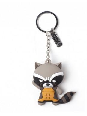 Llavero caucho 3D Rocket Raccoon