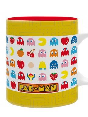 Taza Pac-Man Pixel