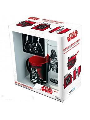 Pack regalo Darth Vader Taza + Vaso + Posavasos