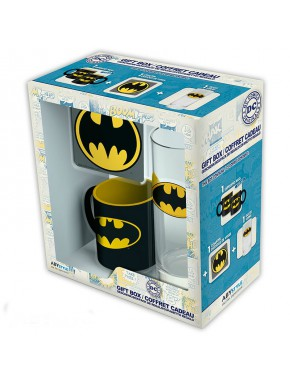 Pack regalo Batman Taza + Vaso + Posavasos