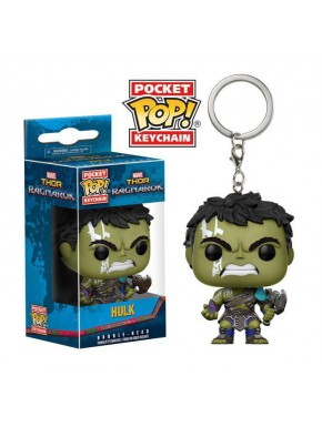 Llavero mini Funko Pop! Hulk Ragnarok