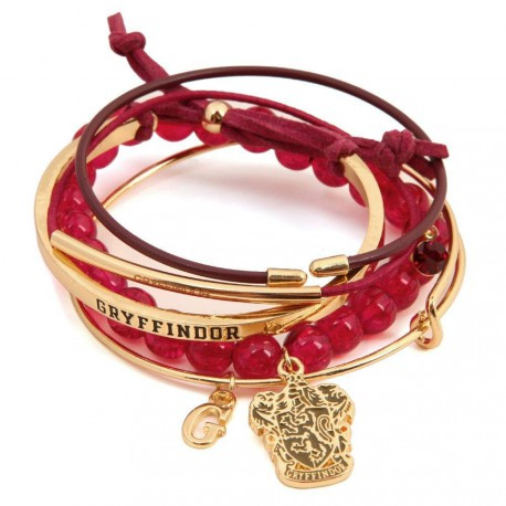 Pulsera personalizable Harry Potter Gryffindor