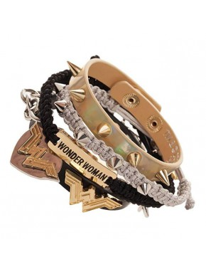 Pulsera personalizable Wonder Woman