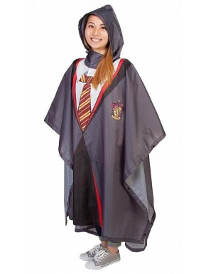 Poncho impermeable Harry Potter Gryffindor