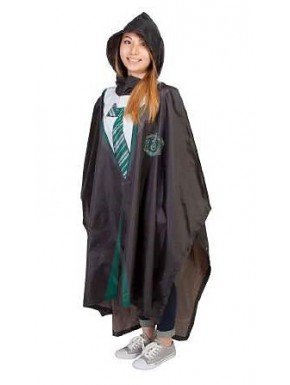 Poncho impermeable Harry Potter Slytherin