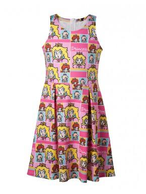 Vestido niña Princesa Peach