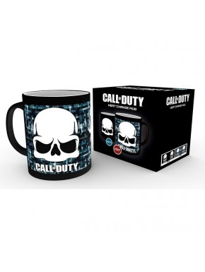 Taza Térmica Call of Duty Skull