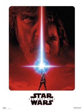 Mini Poster lienzo Star Wars Last Jedi