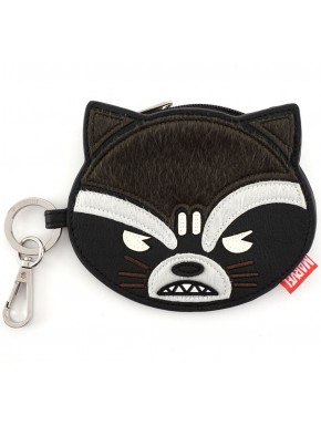 Cartera Monedero Loungefly Rocket Raccoon Guardianes de la Galaxia