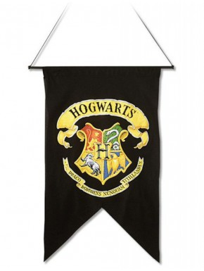 Bandera Estandarte Hogwarts Harry Potter