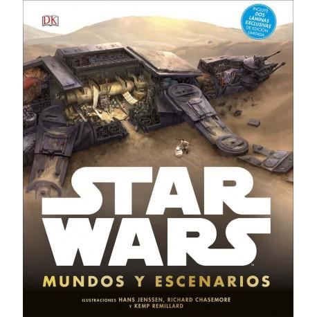 Libro Star Wars, Mundos y Escenarios