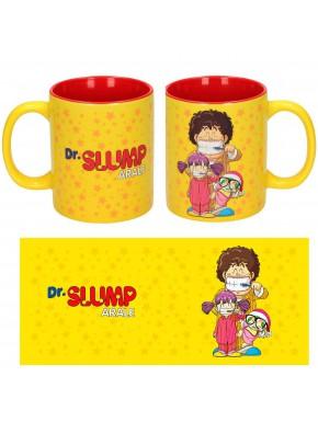 Taza de Dr Slump Arale Familia