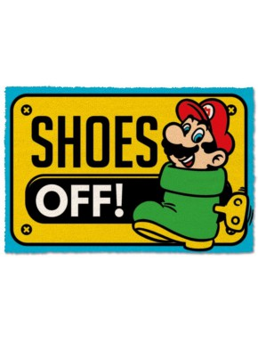 Felpudo coco Super Mario Shoes