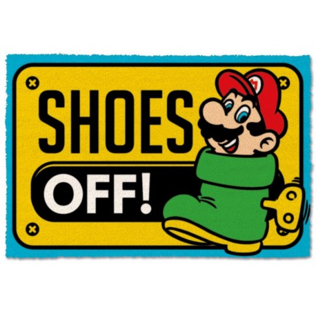 Felpudo coco Super Mario Shoes