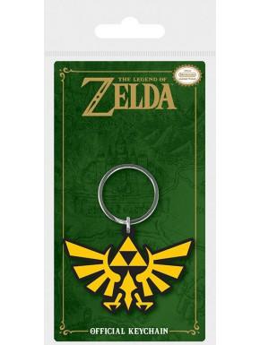 Llavero caucho Zelda Trifuerza