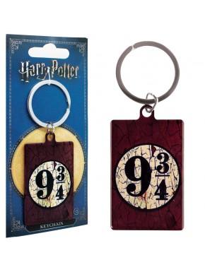 Llavero metal Andén 9 y 3/4 Harry Potter Vintage