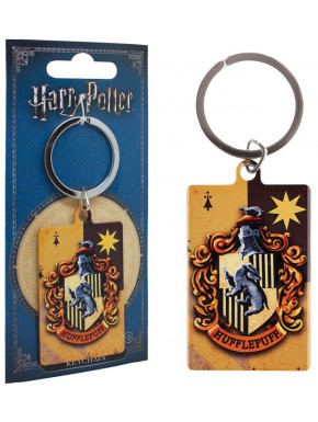 Llavero metal Hufflepuff Harry Potter Vintage