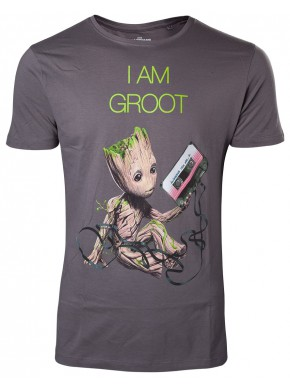 Camiseta I am Groot Guardianes de la Galaxia 2