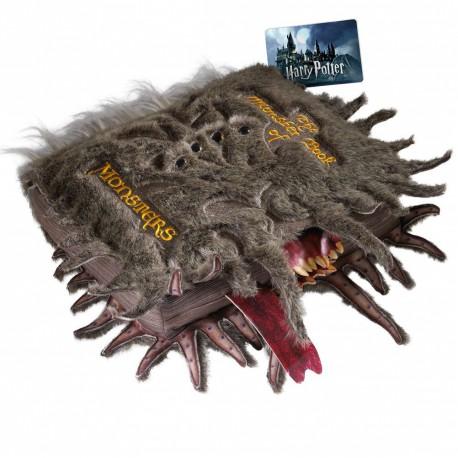 Peluche Réplica Monstruoso Libro de los Monstruos Harry Potter The Noble Collection