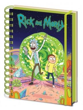 Libreta Premium A5 Rick y Morty