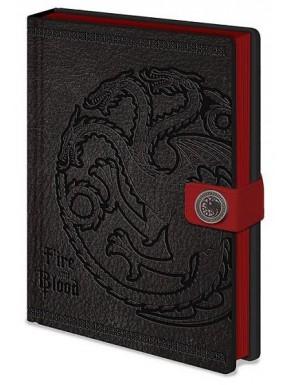 Libreta Premium A5 Juego de Tronos Targaryen