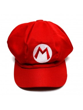 Gorra cosplay Super Mario