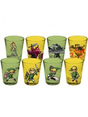 Set de 4 vasos chupito Zelda