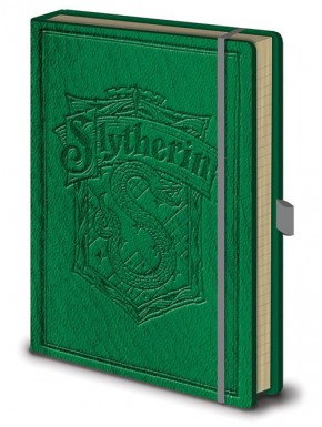 Libreta Premium A5 Harry Potter Slytherin