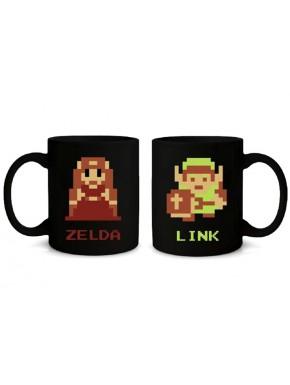 Taza Zelda 8 bits